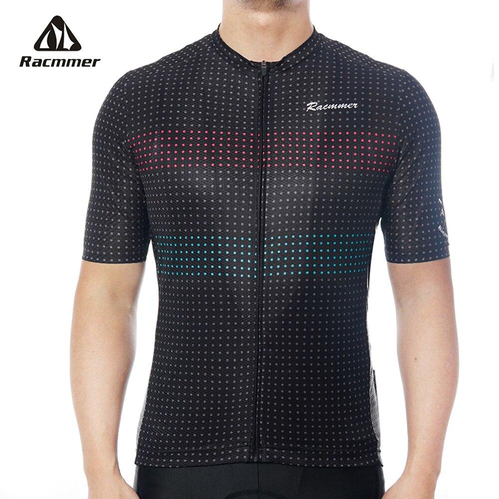 Racmmer Pro Cycling Jersey Mens AERO Training Bicycle Jersey lightweight Mtb Bike Cycling Clothing Shirt Kit Maillot Ciclismo